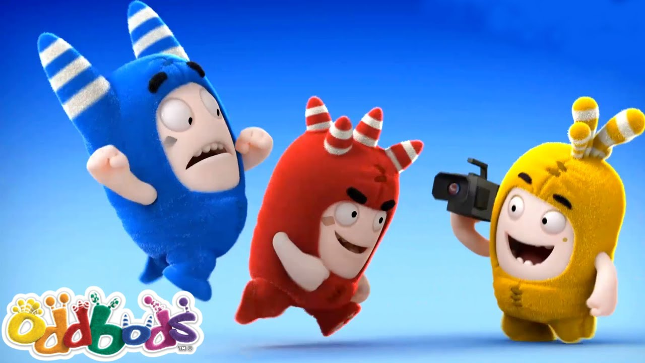 CORSA VERSO IL TRAGUARDO | Oddbods | NUOVO | Cartoni Animati Divertenti per Bambini
