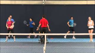 Cardio Tennis - Drills - Mid Court Crusher