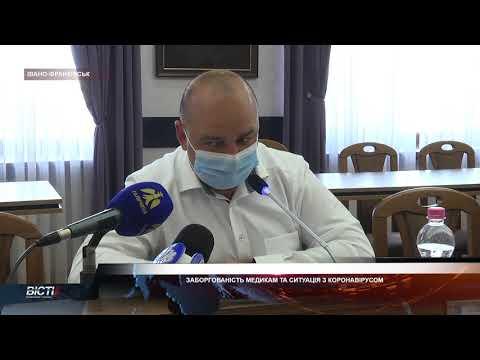 Заборгованість медикам та ситуація з коронавірусом. 16 день вересня