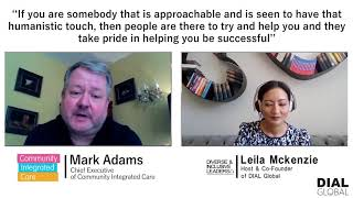 Diverse & Inclusive Leaders Podcast: Mark Adams,  CEO Community Integrated Care (Teaser)