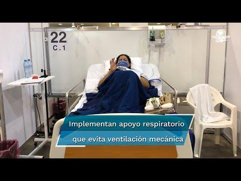 Vencen la Covid en Hospital Banamex