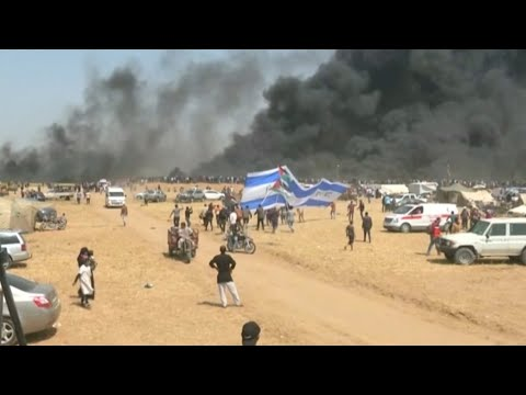 Palestinians killed and wounded in Gaza border protests