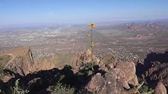 Climbing the Siphon Draw Trail to The Flatiron - Superstition Mountains, Apache Junction, AZ