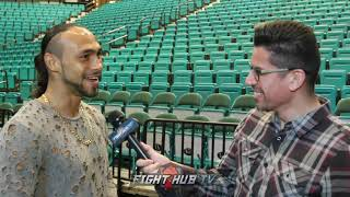 "KEITH THURMAN ""I WANT TO TRADE W/MANNY! I WANT TO PUSH HIM BACK! KO'S FOR LIFE!"""