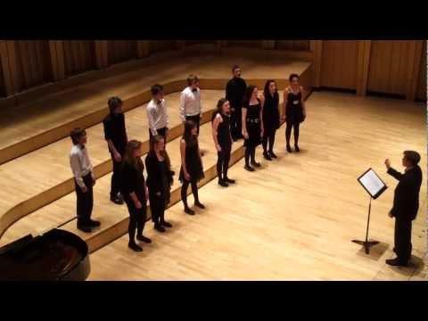 Cathedral School Llandaff House Singing Competition - Euddogwy Acapella