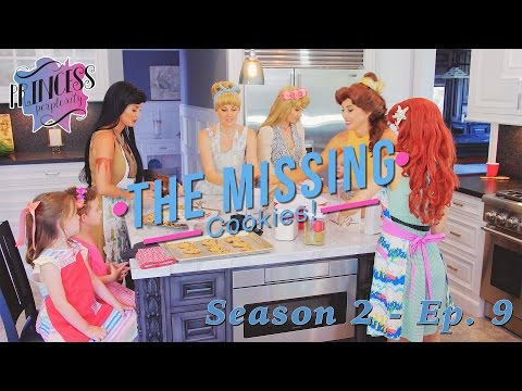 Disney Princesses Find The Missing Cookies