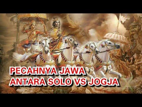PECAHNYA MASYARAKAT JAWA : JOGJA VS SURAKARTA
