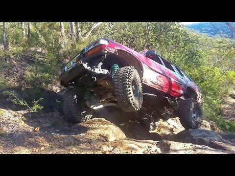Does Tyre Size Matter Off Road - 35 vs 37 vs 40 Inch Tyres @ The Bullio Steps