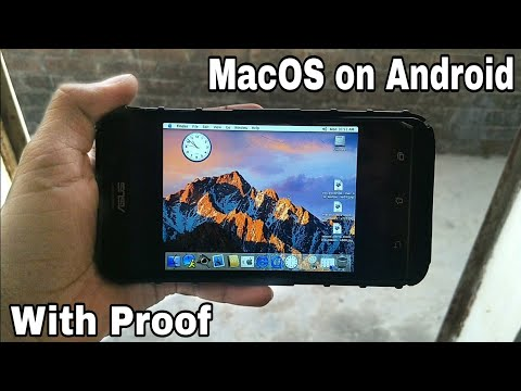 How To Run Apple's MacOS On Android Phone..!!! [With Proof]
