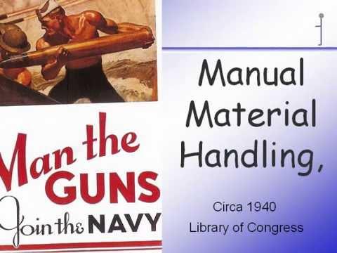Manual Material Handling And Ergonomics