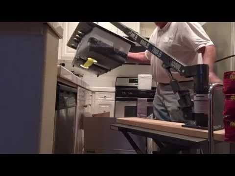 1 Man Cast Iron Sink Installation from YouTube · Duration:  1 minutes 21 seconds