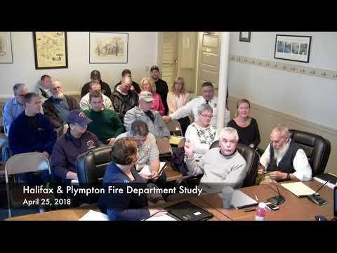 Halifax Board of Selectmen-April 25, 2018 (4/25/18)