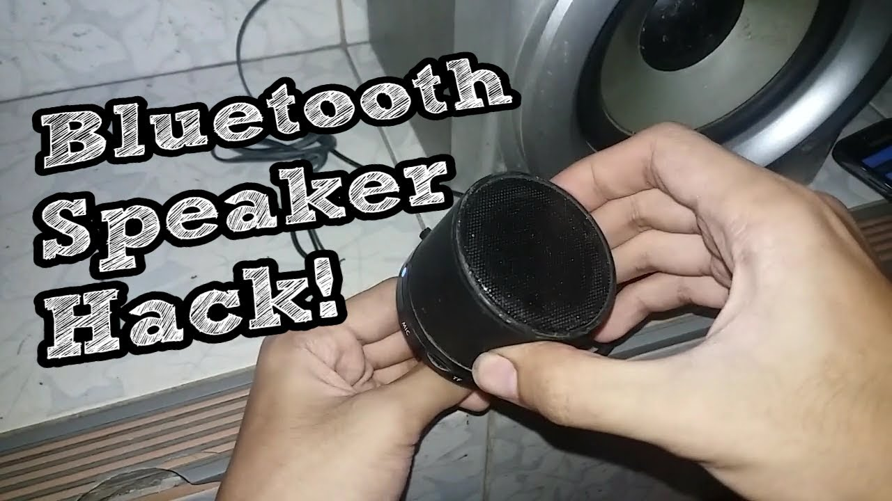 Hacking a Bluetooth Speaker  External Audio Jack