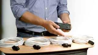 Capteur AXIS F1015 avec câble de 12 m vidéo