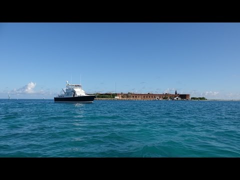 Boat & Anchor to Dry Tortugas National Park, Fort Jefferson