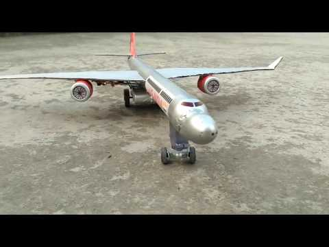 how to make a airplane at home electric