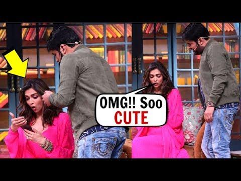 Deepika Padukone CUTEST Reaction On Seeing Kapil Sharma Daughter