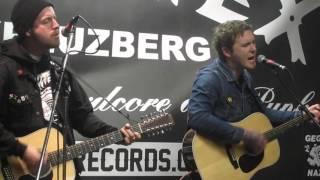 """Brian Fallon - """"Smoke"""" live im Core Tex Berlin, 14.04.2016"""
