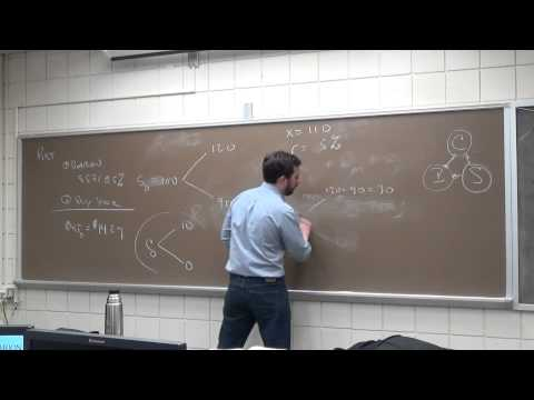 FIN 376: Binomial Option Pricing and Delta Hedging