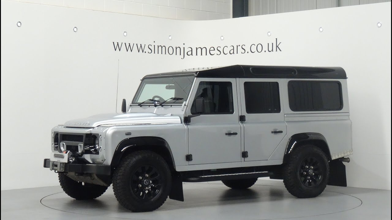 Land Rover Defender 110 Xs Finished In Indus Silver Youtube