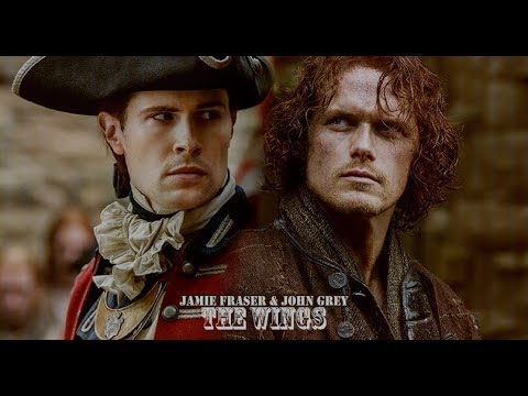 Lord John & Jamie Fraser  The Wings