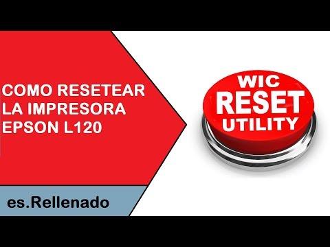 Resetter epson l120 cracked lips - Libro Rompiendo Los
