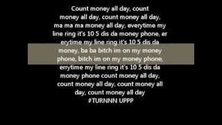 Icewear Vezzo - MONEY PHONE(lyrics w/video., 2013-01-04T06:45:24.000Z)