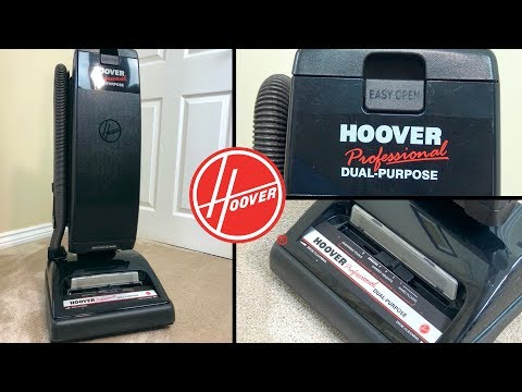 Hoover Professional Dual Purpose Vacuum Cleaner Unboxing & Demo