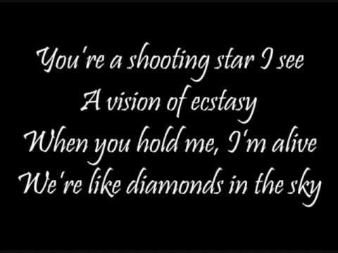 Diamonds in The Sky (Lyrics)