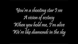 Diamonds in The Sky (Lyrics)