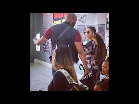 BEYONCE and JAY-Z: The Carters Arrive in South Africa with Family & Twins [VIDEOS]