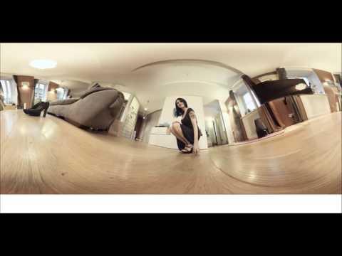 SEXY GIRL - Margaret transparent dress no bra - vr oculus rift - 360° camera