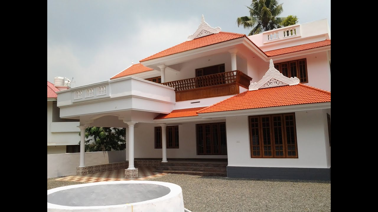House in vip area for sale in angamaly realestate Designer houses in india