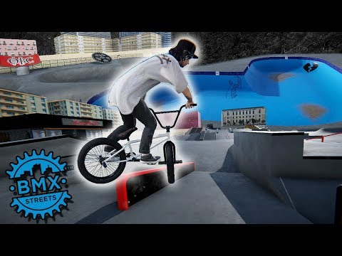 Beach Concrete Skatepark Is Sick! - BMX Streets PIPE