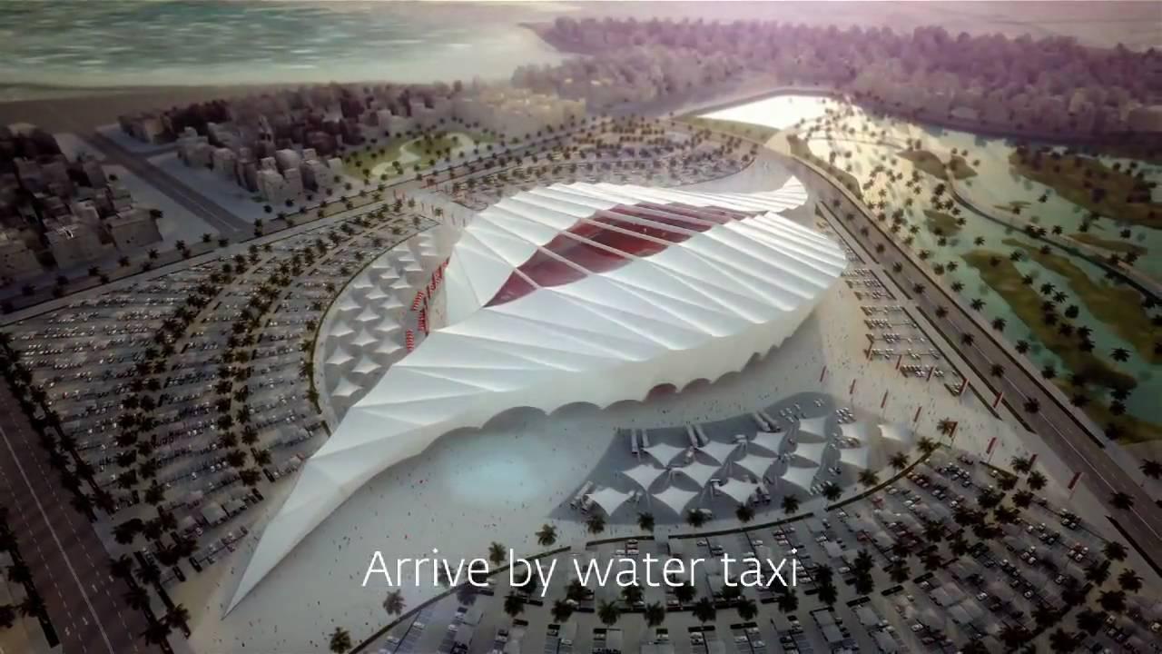 Al khor stadium youtube - Qatar football coupe du monde ...