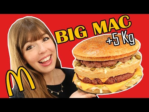 Hamburguesa Big Mac Gigante de +5 KG
