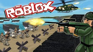 ROBLOX I'm a horrible soldier!
