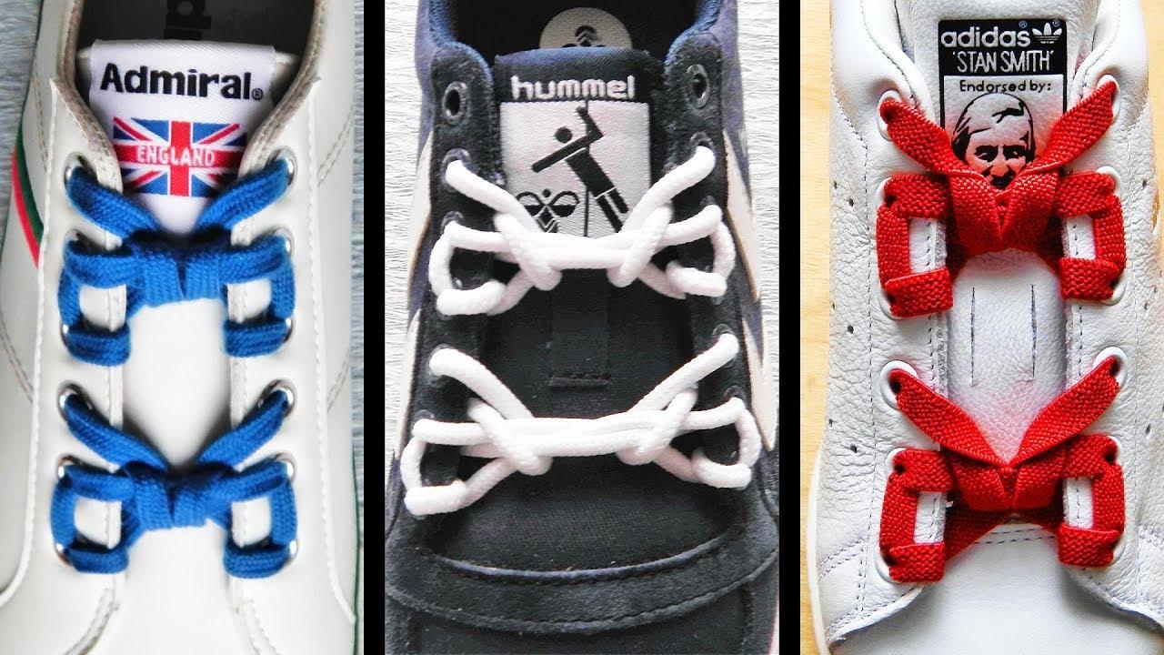 〔靴紐の結び方〕リボンが2つ付いているみたいな靴ひもの通し方 how to tie shoelaces 〔生活に役立つ!〕