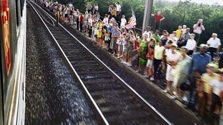 RFK's final journey: How America stood by train tracks to say farewell