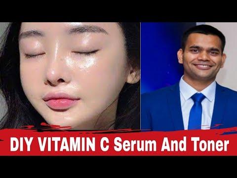 DIY | Make Vitamin C Serum And Toner At Home | Dr. Vivek Joshi