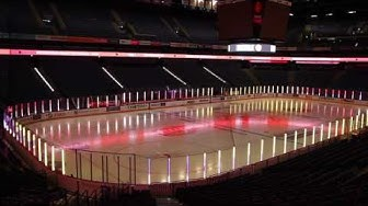 Hartwall Arenan LED-mediapinta