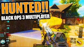 "TEMPEST SHOCK RIFLE! - Black Ops 3 ""HUNTED"" Multiplayer Gameplay (PS4 Black Ops 3 Footage)"