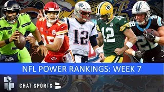 NFL Power Rankings: Week 7 Ft. 49ers Rising, Cowboys Falling, Plus Raiders, Patriots, Chiefs & Rams