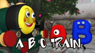 ABC Smiley Train | Nursery Rhymes for Kids | Baby Songs | kids song |