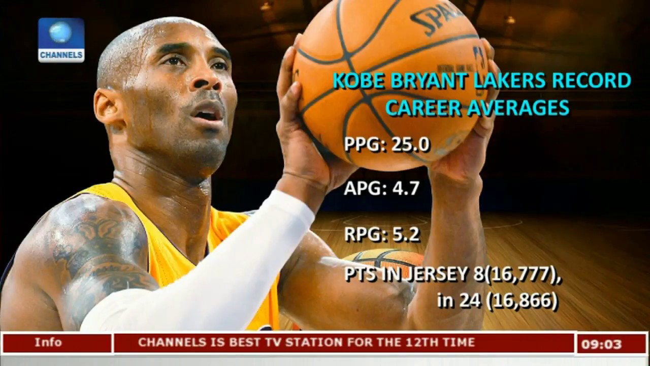 1801237e7 LA Lakers Retire Kobe Bryant s Jersey Numbers After A Brilliant Career