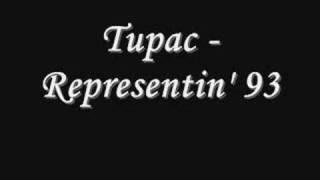 Tupac - Representin