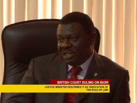 Nigeria Justice Minister On British Court Ruling