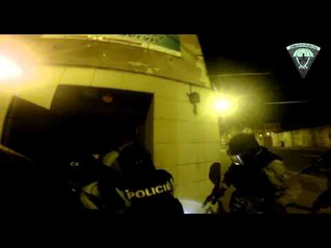 PČR: Zásahová jednotka si v Ústí nad Labem došlápla na výrobce drog
