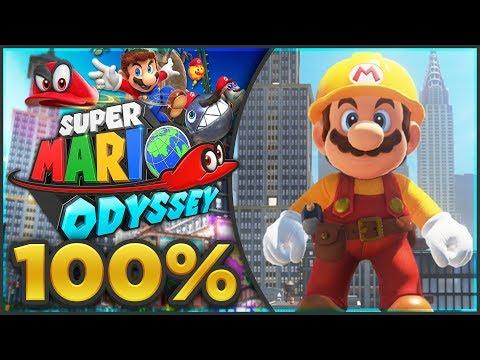 Super Mario Odyssey - Metro Kingdom 100% All Moons & Coins! [🔴LIVE]