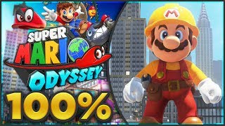 Super Mario Odyssey - Metro Kingdom 100% All Moons & Coins! [🔴LIVE]